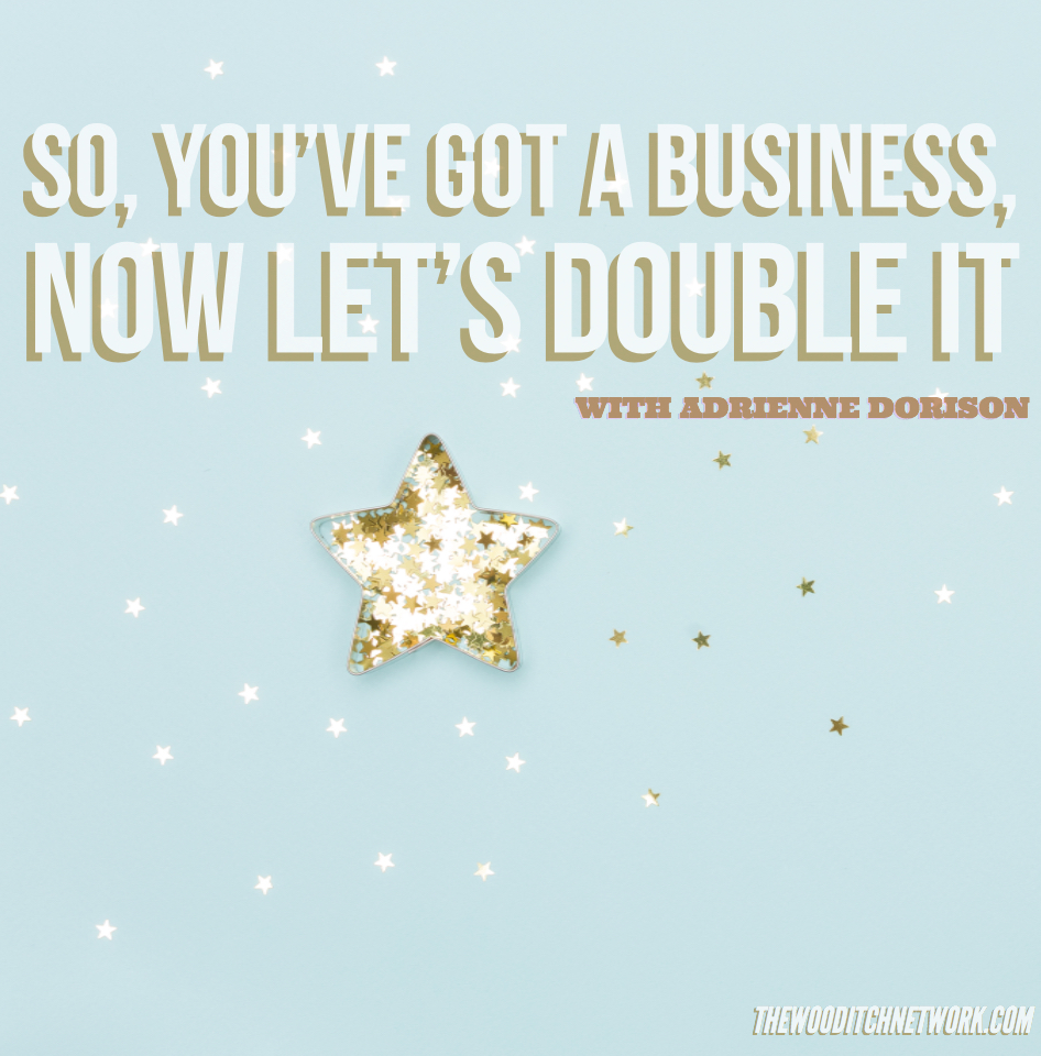 So, You've Got a Business, Now Let's Double It